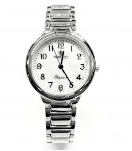 Zegarek Perfect G461 SILVER PERŁOWA TARCZA