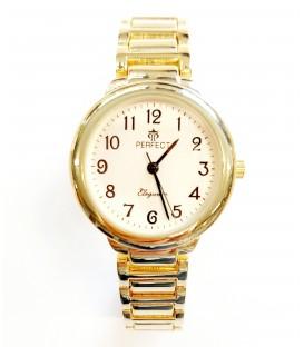 Zegarek Perfect G461 GOLD SREBRNA TARCZA