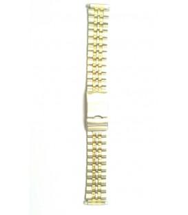 Bransoleta  GOLD ruchoma końcówka  18mm