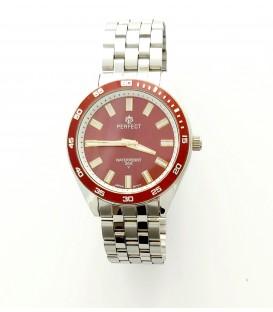 Zegarek PF P025 TARCZA CZERWONA