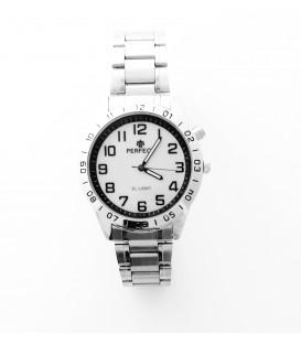 Zegarek PF A838 Z ILUMINATOREM  TARCZA BIAŁA