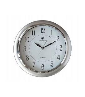 Zegar ścienny analogowy Perfect JQ17 silver