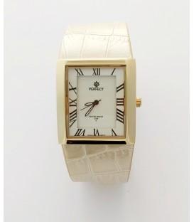 Zegarek PF A307 gold kremowy pasek