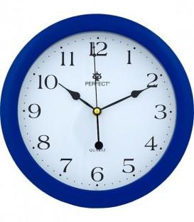 Zegar ścienny analogowy Charle Merle  LA 17  niebieski  Ø 28