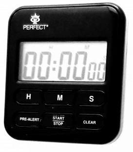 Minutnik LCD Perfect TM 83 czarny