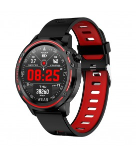 Smartwatch JK Active  JKA03  Czarno-czerwony