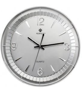 Zegar ścienny analogowy Perfect PW 151 silver