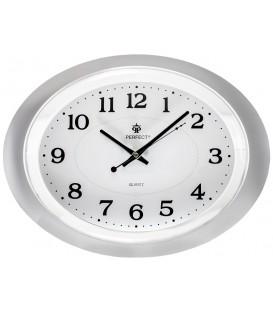 Zegar ścienny  Perfect PW 032 jasnoszary  WYS-30,SZER-40