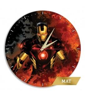 Zegar ścienny IRON MAN POŁYSK 002