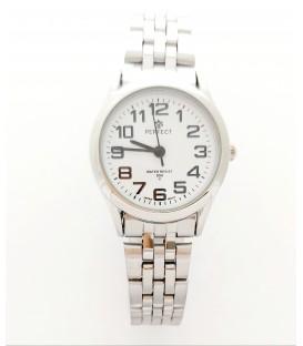 Zegarek Perfect P122  SILVER tarcza biała