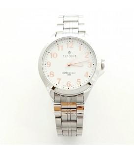 Zegarek PF R412 METAL TARCZA BIAŁACYFRY ROSE