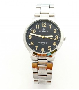 Zegarek PF R422  METAL  TARCZA CZARNA