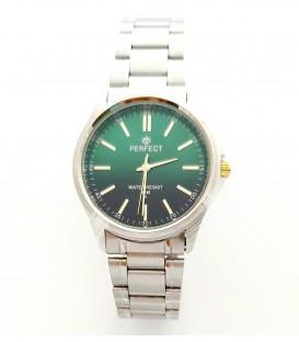Zegarek PF P424  METAL  TARCZA ZIELONA