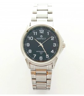 Zegarek PF P425  METAL  TARCZA CZARNA