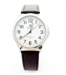 Zegarek Perfect B7382 IPS brązowy  pasek
