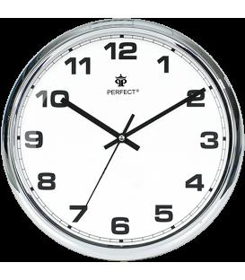 Zegar ścienny Perfect FX-631AK chrom