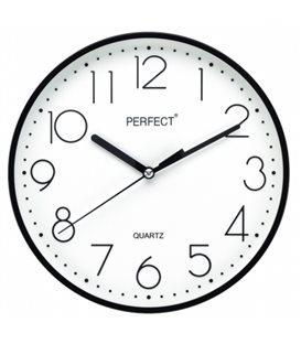 Zegar ścienny analogowy Perfect FX-5814 Czarny
