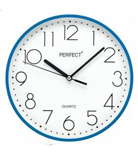 Zegar ścienny analogowy Perfect FX-5814 Niebieski