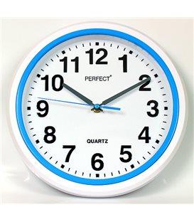 Zegar ścienny analogowy Perfect FX-5841 Niebieski