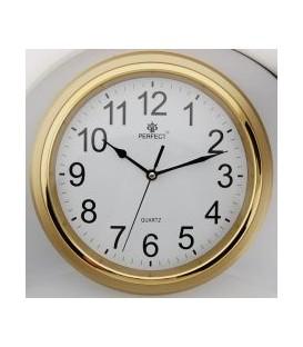 Zegar ścienny analogowy Perfect FX-5842 Złoty