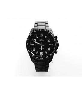 Zegarek PF M107 BLACK CYFRY BIAŁE