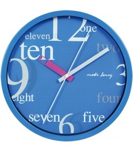 Zegar ścienny analogowy Perfect 9168 Ø 25