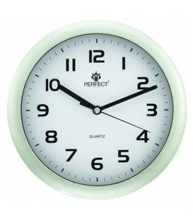 Zegar ścienny analogowy Perfect 7130 Srebrny Ø 25.5