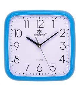 Zegar ścienny analogowy Perfect FX-5792 Niebieski Ø 25