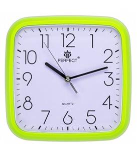 Zegar ścienny analogowy Perfect FX-5792 Zielony