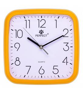 Zegar ścienny analogowy Perfect FX-5792 Pomarańczowy