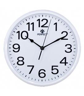 Zegar ścienny analogowy Perfect GWL 683 Biały Ø 25