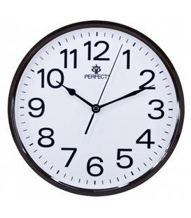 Zegar ścienny analogowy Perfect GWL 683 Brązowy Ø 25