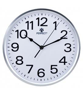 Zegar ścienny analogowy Perfect GWL 683 Srebrny Ø 25