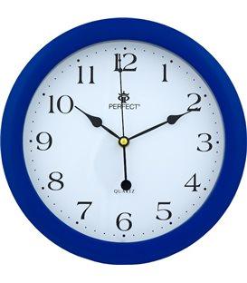 Zegar ścienny analogowy Perfect LA 17 Niebieski