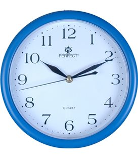 Zegar ścienny analogowy Perfect MP 17 Niebieski
