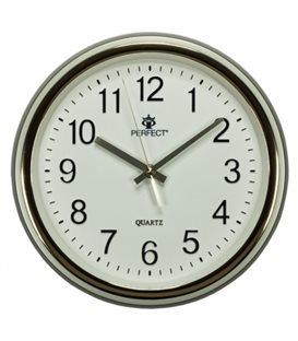 Zegar ścienny analogowy Perfect PW 158 Złoty Ø 28