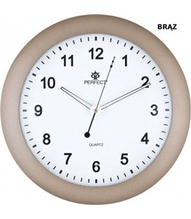 Zegar Ścienny Perfect PW 171 Brązowy