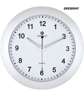 Zegar Ścienny Perfect PW 171 Srebrny