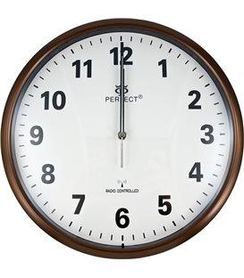 Zegar ścienny analogowy Perfect HT 954 D3 Brązowy Ø 30.5