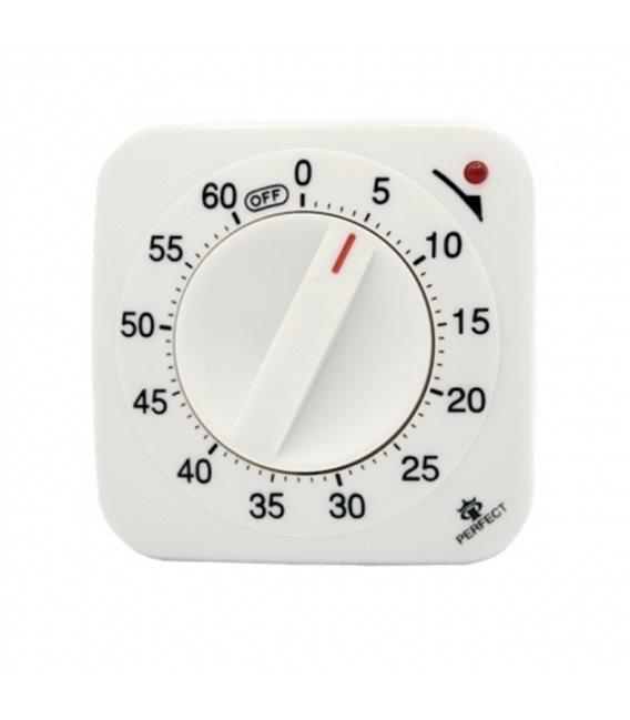 Minutnik analogowy Perfect TM 67 Biały
