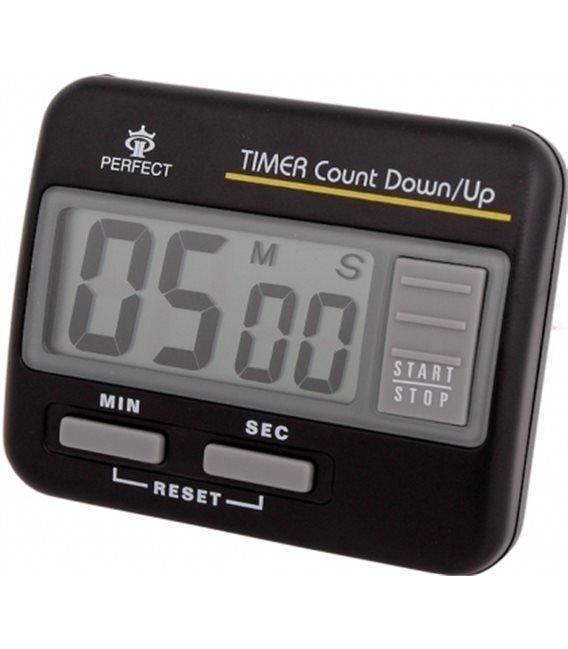 Minutnik LCD Perfect TM 86 Czarny