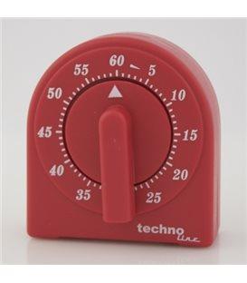 Minutnik analogowy KT 200 Czerwony