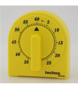 Minutnik analogowy KT 200 Żółty