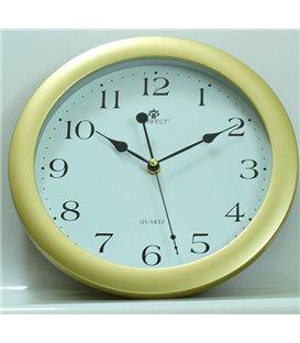 Zegar ścienny analogowy Perfect LA 17 Złoty mat Ø 28