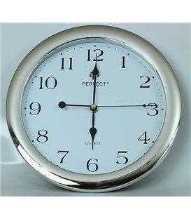 Zegar ścienny analogowy Perfect LA 17 Srebrny