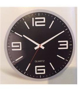 Zegar ścienny analogowy Perfect FX-5129 srebrny