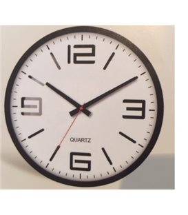 Zegar ścienny analogowy Perfect FX-5129 czarny