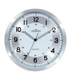 Zegar ścienny analogowy Chermond 1018
