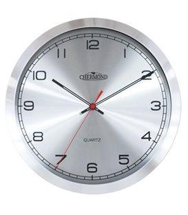Zegar kwarcowy analogowy Chermond 9632