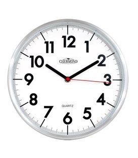 Zegar kwarcowy analogowy Chermond 9647